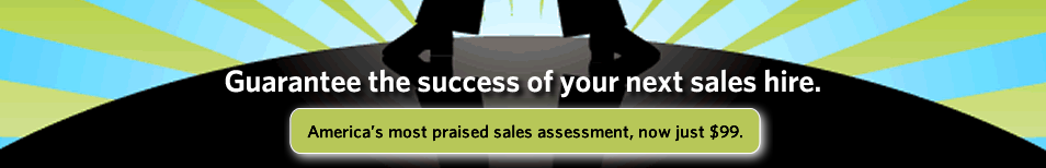 America\'s most praised sales assessment, now just $99.